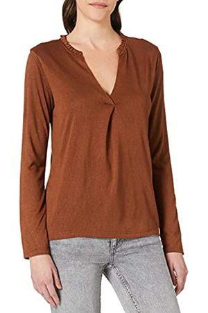 Springfield Damen Camiseta Cuello Minivolantes Unterhemd