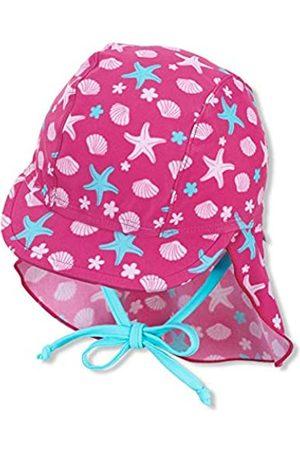 Sterntaler Baby Hüte - Baby-Mädchen Schirmmütze mit Nackenschutz Sealife Sonnenhut