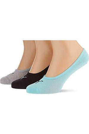 PUMA Herren Socken & Strümpfe - Unisex-Adult Footie (3 Pack) Socks