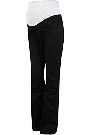 bellybutton Damen Bootcut - Maternity Damen Jeans Bootcut mit Überbauchbund Umstandsjeans