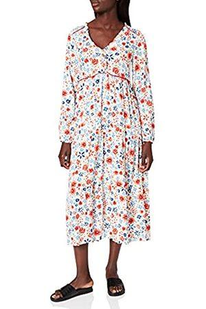 Springfield Damen Freizeitkleider - Damen Vestido CAMISERO MIDI Kleid