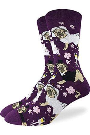 Good Luck Sock Herren Socken & Strümpfe - Good Luck Herren Socken für Hochzeit, Mops
