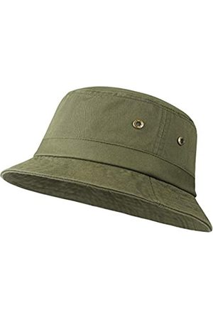 BOTVELA Herren Hüte - Baumwoll-Twill Bucket Hats Unisex Kurze Krempe Outdoor Sommer Casual Cap - - Large-X-Large