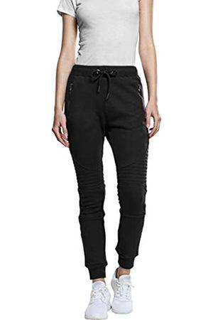 Urban classics Damen Slim Hose Ladies Melange Biker Sweatpants W36 (Herstellergröße: S)