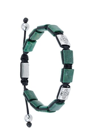 Nialaya Jewelry Herren Armbänder - Dorje Flatbead' Armband