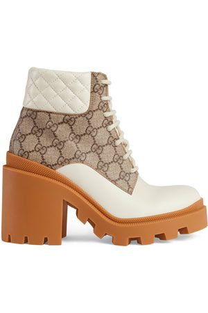 Gucci Damen Stiefeletten - Damenstiefelette mit GG
