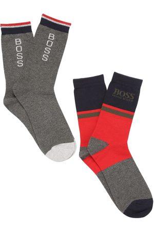 HUGO BOSS Set: 2 Socken Aus Baumwollmischstrick