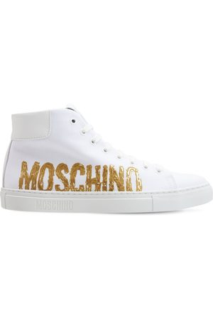 Moschino 25 Mm Hohe Sneakers Mit Logo