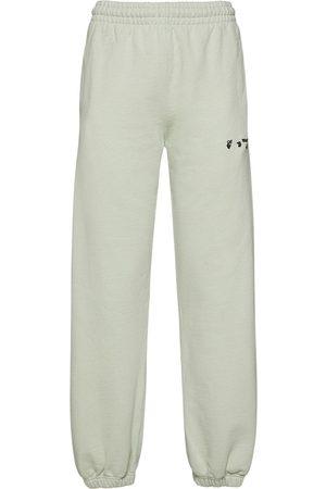 OFF-WHITE Jersey-jogginghose Mit Logo