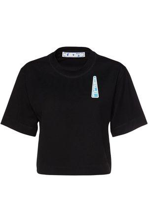 OFF-WHITE T-shirt Aus Jersey Mit Logo