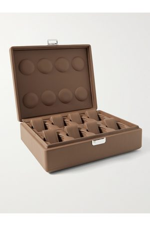 Scatola del Tempo Herren Uhren - Full-Grain Leather Watch Box