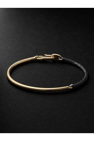 MAOR The Equinox White and Yellow Diamond Bracelet