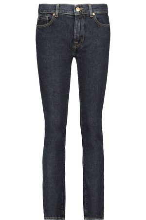 7 For All Mankind High-Rise Slim Jeans Roxanne