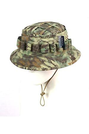 ZAPT Herren Hüte - Boonie Hut Military Camo Cap Hunter Sniper Ghillie Bucket Hüte Verstellbare Dschungel Buschhut Gr. Einheitsgröße