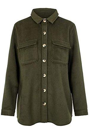Object Damen Westen - Female Jacke Oversize Wollmischfaser 42Forest Night