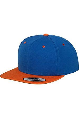 Flexfit Herren Caps - Yupoong Unisex Kappe Classic Snapback 2-Tone, zweifarbige blanko Cap mit geradem Schirm, One Size Einheitsgröße für Männer und Frauen