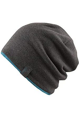 Chillouts Herren Hüte - Erwachsene Brooklyn Hat Longbeanie, 20 Dark Grey/Ocaen