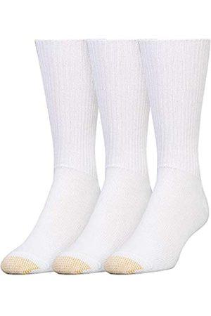 Gold Toe Herren Socken & Strümpfe - Men's Fluffies Crew Socks, 3 Pairs