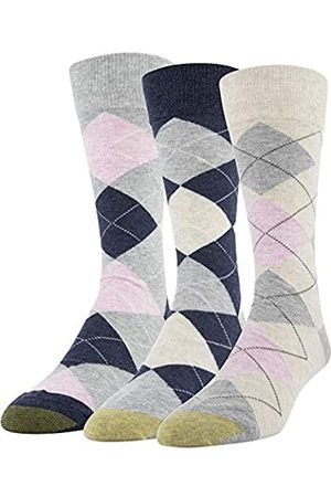 Gold Toe Herren Carlyle Argyle Crew Socken