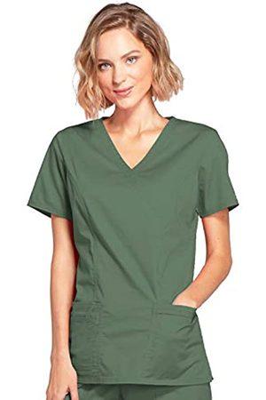 Cherokee Damen Oberbekleidung - Women's Workwear Scrubs Core Stretch Mock Wrap Top (Size 2X-5X), Olive