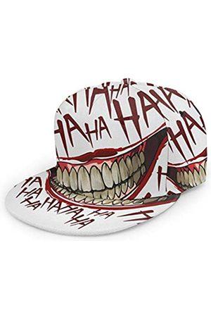 (N/A) Joker Hahaha Unisex 3D Druck Klassische Baseball Cap Snapback Flat Bill Hip Hop Hüte