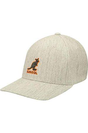Kangol Mütze Kappe 3D Wool Flexfit Cap Fitted Fullcap Basecap Baseballcap Fullcap Baseballcap (S/M (54-57 cm) -)