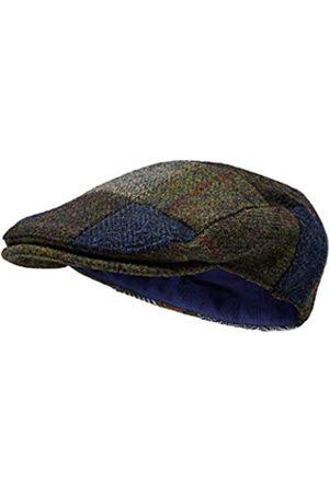 Borges & Scott Die Muir - Flat Cap - 100% Wolle - Harris Tweed - Wasserabweisend - 60cm