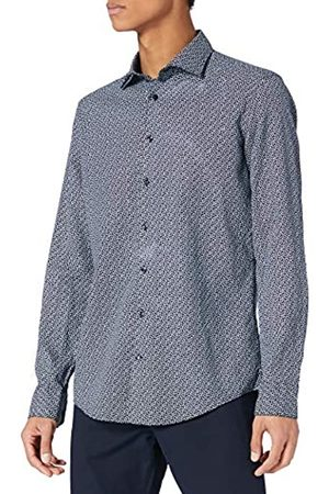 Seidensticker Herren Slim Langarm Linen Hemd