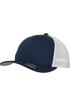 Flexfit Mesh Trucker Cap 2-Tone - Unisex Baseballcap für Damen und Herren, Farbe Navy/White