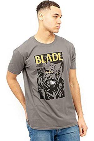 Marvel Herren Blade Stare T-Shirt