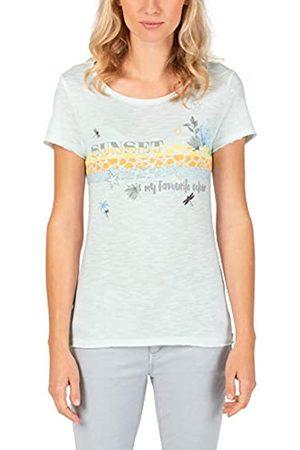 Timezone Damen Printed Basic Roundneck T-Shirt
