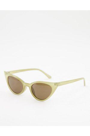Jeepers Peepers – Cat-Eye-Sonnenbrille für Damen in mit getönten Gläsern