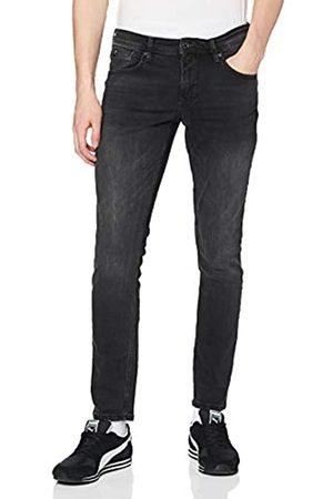 TOM TAILOR Herren Culver Skinny Jeans, (Used Dark Stone Blac(Black) 10250)