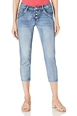 Timezone Damen Regular JillyTZ Cropped Jeans