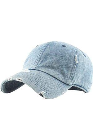 KBETHOS Vintage gewaschen Distressed Cotton Dad Hut Baseball Cap einstellbar Polo Trucker Unisex-Stil Headwear einstellbar