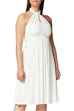 TRUTH & FABLE Amazon-Marke: Damen Hochzeitskleid Multiway Midi, Weiß (Ivory), 40