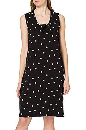 Blue Seven Damen Punkte, V-Ausschnitt Kleid