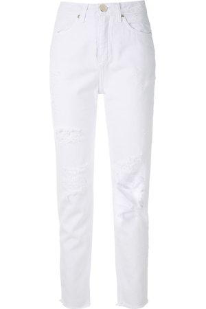 Olympiah Jeans im Distressed-Look