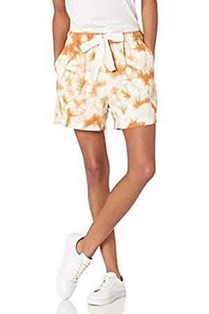 THE DROP Damen Shorts - Jasmine Vintage-Twill-Shorts zum Hineinschlüpfen, für Damen, braun (Adobe), Größe XXL