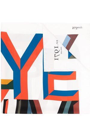 Mulberry Schal mit Alphabet-Print