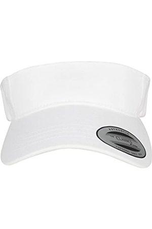 Flexfit Damen Hüte - Yupoong Damen und Herren Curved Visor Cap - Unisex Sonnenblende mit Klettverschluss