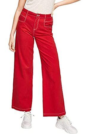 s.Oliver Damen Regular Fit: Wide Leg-Jeans 46