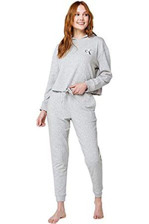 Calvin Klein Damen Schlafanzüge - Damen CK One French Terry Jogger Sweatpant Pyjamahose