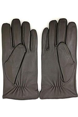 ZLUXURQ Handschuhe Herren Weichlederhandschuhe Hochwertige Winterhandschuhe aus Lammfellleder mit Kaschmirfutter