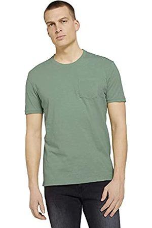 TOM TAILOR Herren Shirts - Herren 1025984 Basic T-Shirt, 19764-Light Mint Green