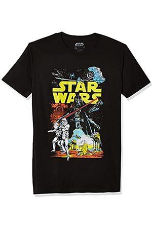 STAR WARS Herren T-Shirts - Herren Rebel Classic Graphic T-Shirt - - Mittel
