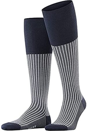Falke Herren Socken & Strümpfe - Herren Oxford Stripe M KH Kniestrümpfe