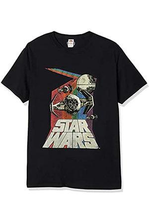 STAR WARS Herren T-Shirts - Herren Retro Graphic T-Shirt - - Groß