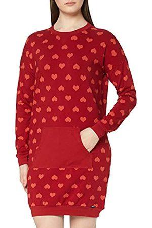 Skiny Damen Sleepshirt Langarm Nachthemd