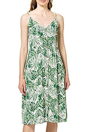 VILA Damen VISANNE S/L MIDI Dress/SU Kleid